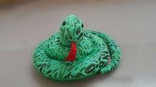 Cute snake animal plush toy