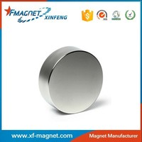 ISO certificated high performance neodymium magnet /good performance sintered round neodimo magneto for industry