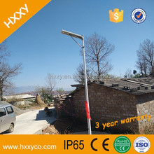 Excellent Heat Dissipation LED Street Light Powerful 6W Solar Power Street Light All In One