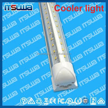 v shape 48inch LED lamp, defectives free replacement, Manufacturer Price, walking cooler light