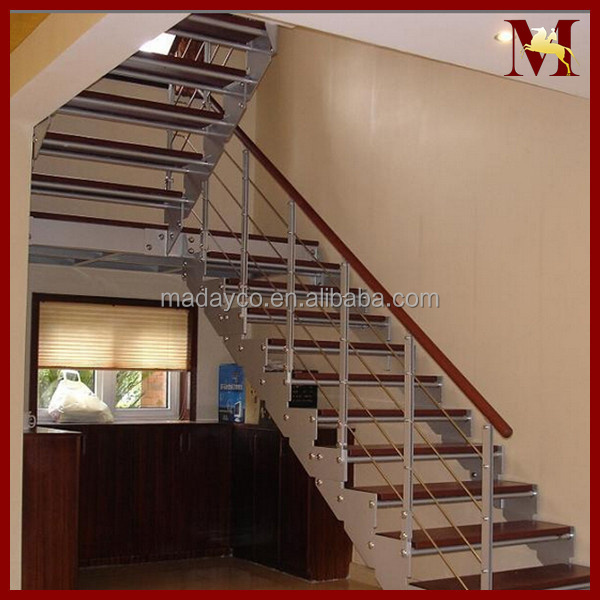 Steel Railing Prefabricated Stairs Steel Used Metal Stairs