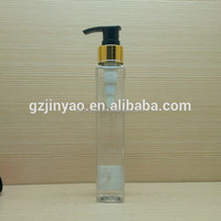 120ml 4oz small square plastic sprayer bottle container cosmetic products essential oil skin care
