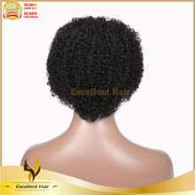Stock 2014 beauty afro kinky curly Full lace wig caps for making wigs