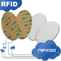 Factory supply paper/plastic windshield uhf tag log