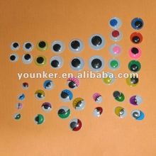 Diy Plastic & Pvc Colored Doll Eyes,New Moving Eyes,