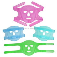 Custom Gel Ice Face Mask/Cold gel pack face mask