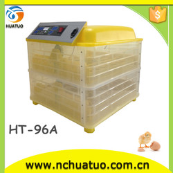 Special price chicken egg incubator and hatcher incubator fan motor for selling HT-96A