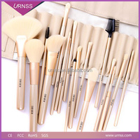 2015 Wholesale OEM new handmade eco go pro makeup brush set beauty products, best professional natural makeup brushes makeup