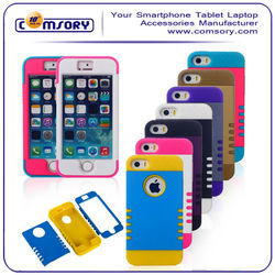 Color Combo Phone Case Cover for Apple iPhone 5 5S 5C