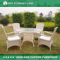 poly rattan set outdoor furniture dining tables and chairs