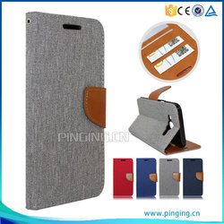 PU Leather flip with card slots case for Huawei Mate S , cover case for Huawei Mate S