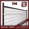 2015 Good Quality See Through portable iron fence For Garden Decoration