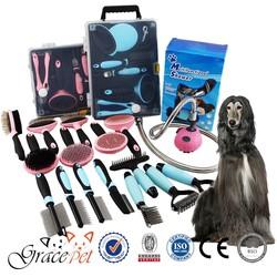 Pet grooming products, pet brush, pet comb, pet grooming set