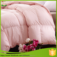 Superior quality for home 100% white goose down duvet and comforter