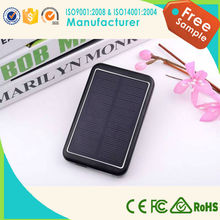 2015 Newest design silicon 8000mah solar charger for cell phone