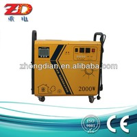 New products solar panels portable 500W mini home solar generators with inverter