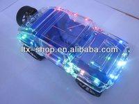 Hummer Car Shape TF Card FM Radio USB Stick Walking Mini Portable Speaker