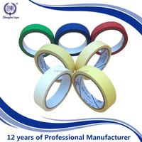 natural rubber pressure sensitive adhesive Masking Tape
