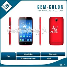 4.7 inch IPS mobile phone with Quad-Core 1.3GHz, 8M camera, BT, WIFI, 3G, GPS, FM