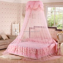 luxury round mosquito nets girls princess bed canopy,beautiful bed net moustiquaires impregnees de permethrine