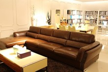 european living room furniture leather reclining furniture sofa set designs J867