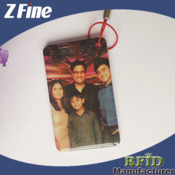 2015 new products small and beautiful funny christmas rfid epoxy card