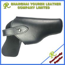 leather gun holster/gun pouch/pistol case