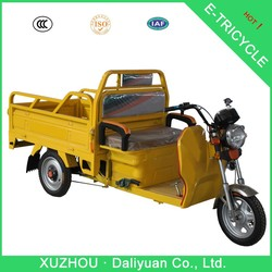 fancy beautiful motorized tricycle for adult electric cargo tricycle