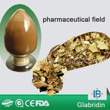 LGB supplier high purity 40%,90% glabridin skin whitening usage