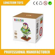 2015 diy toy story nano buzz lightyear para niños pequeños bloques de juguete