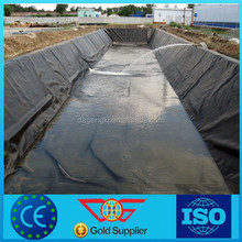 HDPE Geo membrane fish farm,1.0MM thickness, earthwork material for road,fabric,high strength