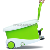 360 spin mop bucket with wheels as seen on TV