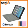 """Ultra-thin Bluetooth Wireless Keyboard case for 7"""" tablet, 7.9inch PU Leather case for ipad mini 1 2"""
