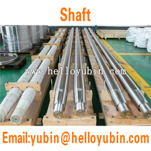 Forged carbon steel cnc machining long boat propeller shaft