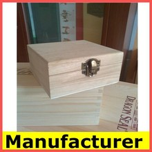 Wholesale Cheap Pine Wooden Box for Craft, Jewelry, Tea, Exhibition