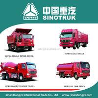 Brazil sinotruk dump truck howo