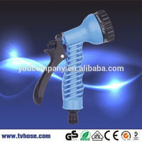 Free sample available wholesale high pressure plastic water gun spray