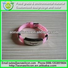 Sports street basketball Silicone Bracelet Wristband Wrist Bracelet