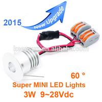 Better quality 1W 2W 3W 4W mini lamp 220v cabinet lighting 13mm 15mm 23mm 27m 3W led ceilight light