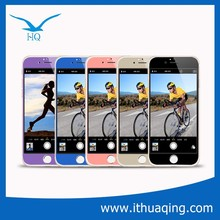 factory promotion price hot sale Colorful tempered glass screen film for iphone 6