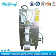 Top quality factory auto water pouch filling