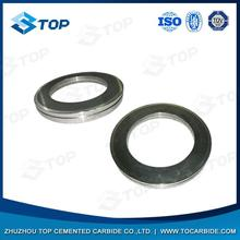 Zhuzhou manufacture pr6.0 125x82x15mm tungsten carbide rolls for forming smooth steel wires with high quality