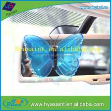 Batterfly shape designer fragrance my shaldan car gel air freshener