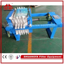 High Quality Laboratory Filter Press Machine, Simple Manual Filter Press For Test