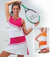 Bright lady's tennis skirt women athletic wear