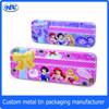 Metal case tin box case tin can girls pencil case