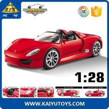 1:28 diecast model car metal car model