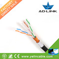 Profesional Cat6 FTP exterior impermeable Lan Cable CE pasajero / RHOS certificado