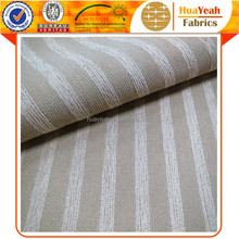 Bar-type Jacquard Fabric Chenille Microfiber Fabric for Home Textiles