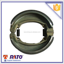Top quality GL150,CBT125 motorcycle brake shoes, Synthetic ceramic carbon fiber brake parts